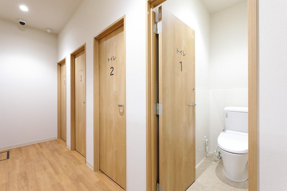 院内下剤の個室トイレ